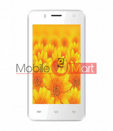 Lcd Display With Touch Screen Digitizer Panel For Intex Aqua Y2 1gb