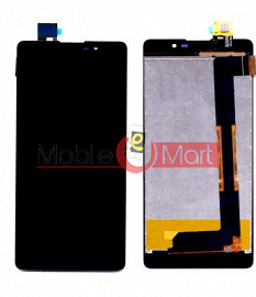 Lcd Display With Touch Screen Digitizer Panel For Intex Aqua Power 4