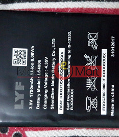 Mobile Battery For Lyf Flame 6