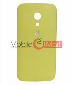Replacement Back Panel For Motorola Moto G - Yellow