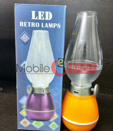 0.4W Retro USB Rechargeable Classic Blow LED Lamp