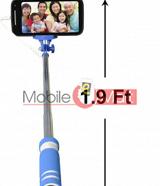 High Quality Selfie Stick Mobile Smartphone With 35m Aux Cable Extenda