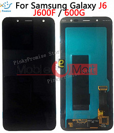 Lcd Display With Touch Screen Digitizer Panel For Samsung Galaxy J6