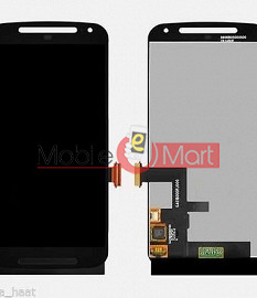 Lcd Display With Touch Screen Digitizer Panel For Moto G 2nd Generation