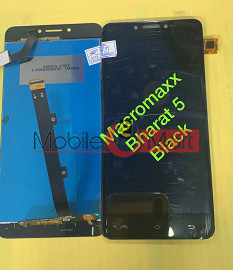 Lcd Display With Touch Screen Digitizer Panel For Micromax Bharat 5