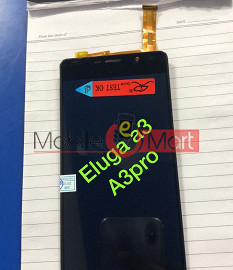 Lcd Display With Touch Screen Digitizer Panel For Panasonic Eluga A3 Pro