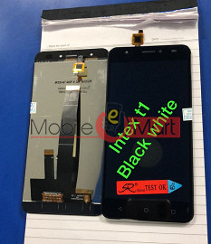 Lcd Display With Touch Screen Digitizer Panel For Intex Aqua Lions T1
