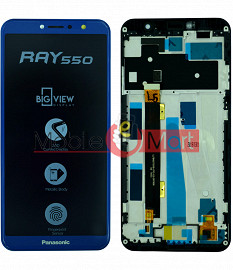 Lcd Display With Touch Screen Digitizer Panel For Panasonic Eluga Ray 550