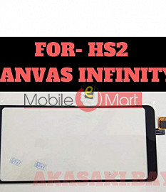 Touch Screen Digitizer For Micromax Canvas Infinity HS2