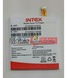 Mobile Battery For Intex Aqua Y2 Power