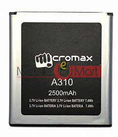 Mobile Battery For  Micromax Canvas Nitro A310