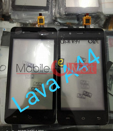 Touch Screen Digitizer For LAVA A44