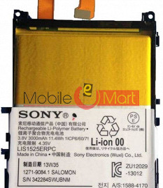 Mobile Battery For Sony Xperia Z