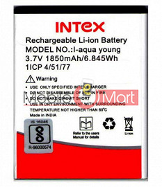 Mobile Battery For Intex Aqua Young