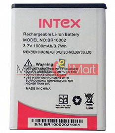 Mobile Battery For Intex Aqua A1