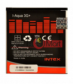 Mobile Battery For Intex Aqua 3G plus