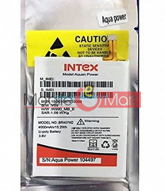 Mobile Battery For Intex Aqua Power 4
