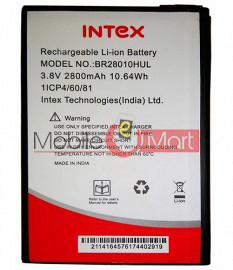 Ajah Mobile Battery For Intex Aqua Amaze Plus