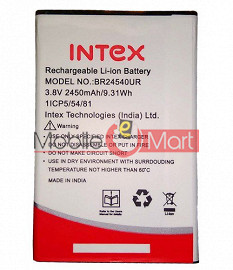 Mobile Battery For Intex Aqua S3