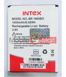 Mobile Battery For Intex Aqua 4.5E