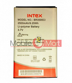 Mobile Battery For Intex Aqua Lions 3G
