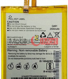Mobile Battery For Micromax Canvas 4G Q461