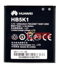 Mobile Battery For Huawei HB5K1 Huawei U8660 U8661 C8810 C8650