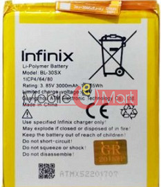 Mobile Battery For Infinix X522 Hot S2 Pro