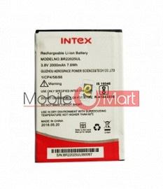 Mobile Battery For Intex Aqua Strong 5.1 Plus