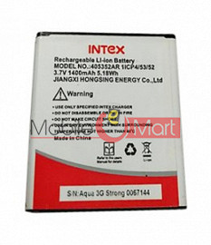 Mobile Battery For Intex Aqua 3G Strong