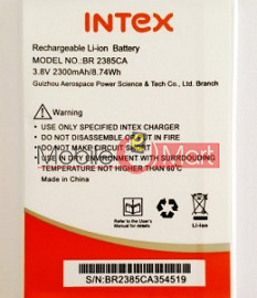 Mobile Battery For Intex Aqua 4.5 3G