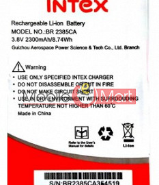 Mobile Battery For Intex Aqua Air II 2