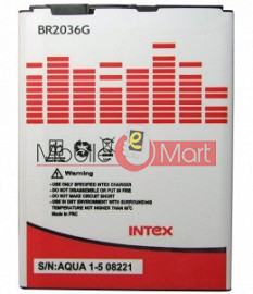 Mobile Battery For Intex Aqua i5