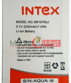 Mobile Battery For Intex Aqua i6