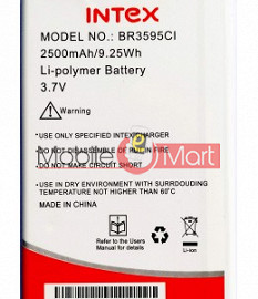 Mobile Battery For Intex Aqua Lion 3G