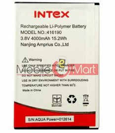Mobile Battery For Intex Aqua Power Plus