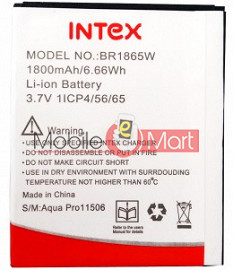 Mobile Battery For Intex Aqua Pro