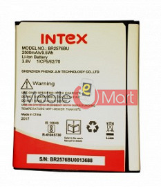 Mobile Battery For Intex Aqua Raze