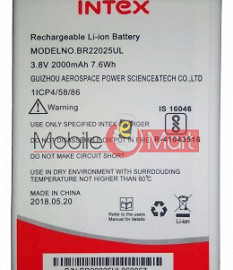 Mobile Battery For Intex Aqua Sense 5.1