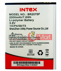 Mobile Battery For Intex Aqua Slice II 2