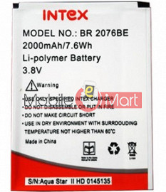 Mobile Battery For Intex Aqua Star II 2