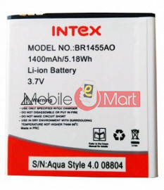 Mobile Battery For Intex Aqua Style 4.0