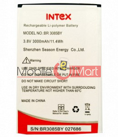 Mobile Battery For Intex Aqua Turbo 4G