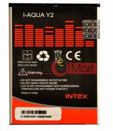 Mobile Battery For Intex Aqua Y2 1GB