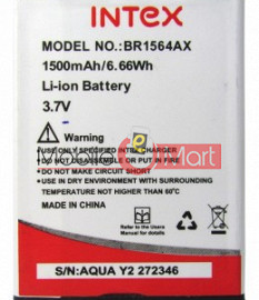 Mobile Battery For Intex Aqua Y2