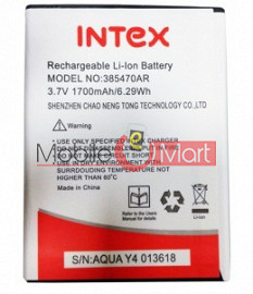 Mobile Battery For Intex Aqua Y4