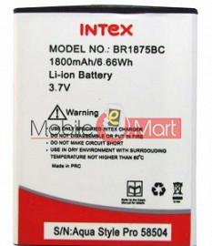 Mobile Battery For Intex BR1875BC