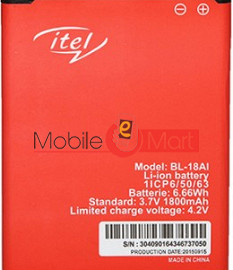 Mobile Battery For Itel BL-18AI