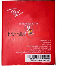 Mobile Battery For Itel BL-20JI