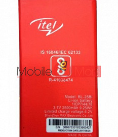 Mobile Battery For Itel BL-25BI